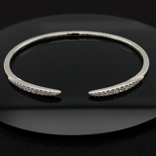 Gabriel & Co. Diamond Bangle Bracelet Gerald's Jewelry Oak Harbor, WA