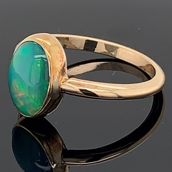 Ladies Ethiopian Opal Ring Image 2 Gerald's Jewelry Oak Harbor, WA
