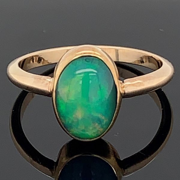 Ladies Ethiopian Opal Ring Gerald's Jewelry Oak Harbor, WA