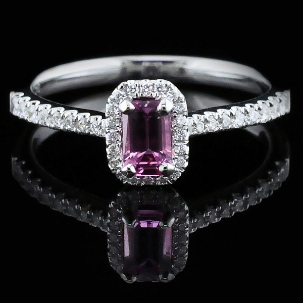 Ladies Pink Sapphire and Diamond Fashion Ring Gerald's Jewelry Oak Harbor, WA