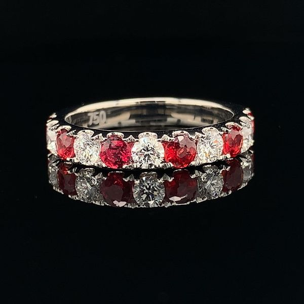 Ladies Fire Ruby and Diamond Ring Geralds Jewelry Oak Harbor, WA