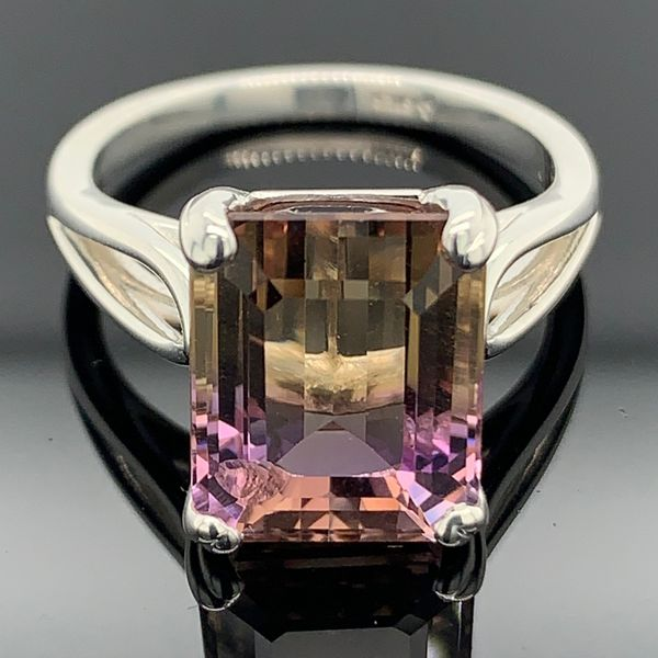 Emerald Cut Ametrine Ring Gerald's Jewelry Oak Harbor, WA