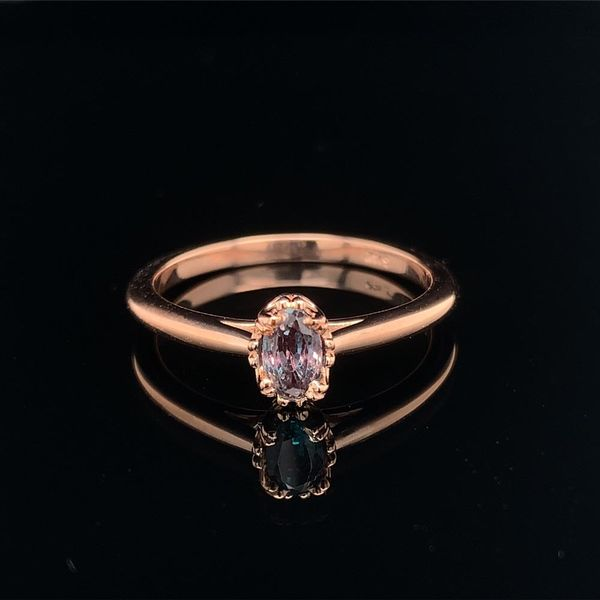 .56ct Oval Cut Alexandrite Solitaire Ring Image 2 Geralds Jewelry Oak Harbor, WA
