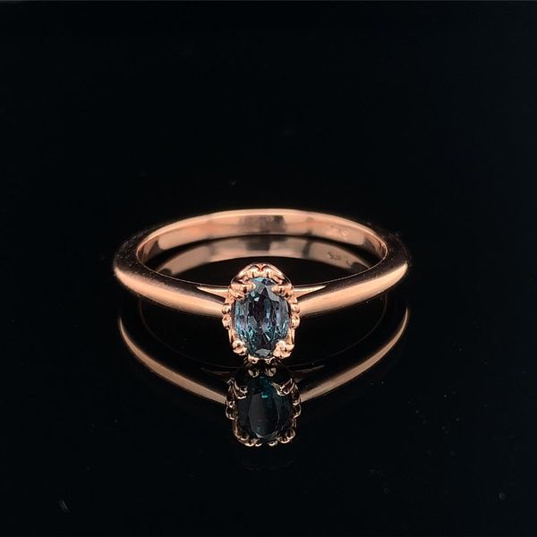 .56ct Oval Cut Alexandrite Solitaire Ring Geralds Jewelry Oak Harbor, WA