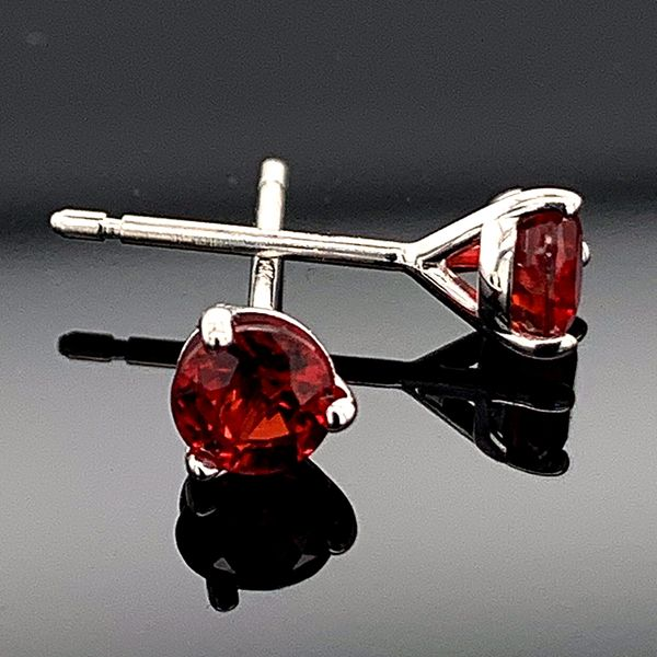 .73Ct Total Weight Fire Ruby Stud Earrings Gerald's Jewelry Oak Harbor, WA