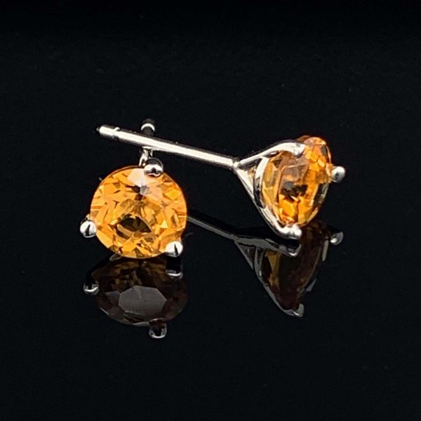 Citrine Stud Earrings Geralds Jewelry Oak Harbor, WA
