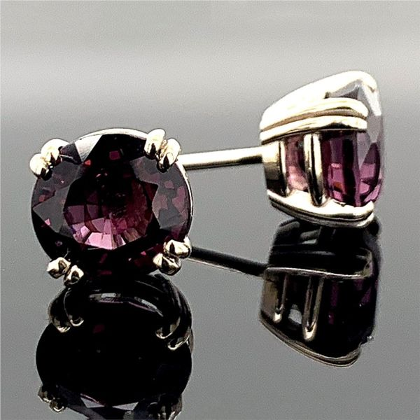 2.82Ct Total Weight Natural Spinel Stud Earrings Gerald's Jewelry Oak Harbor, WA