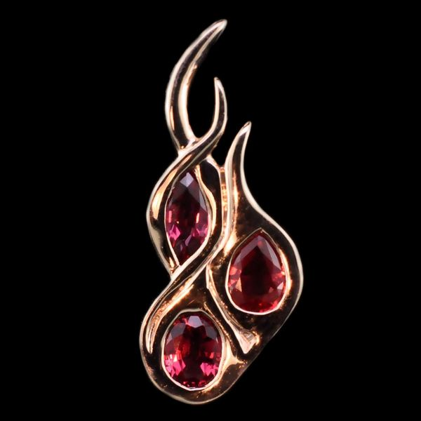 Custom Made Fire Ruby