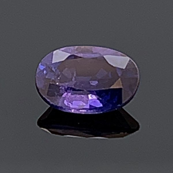 .88Ct Oval Cut Natural Color Change Sapphire Image 2 Gerald's Jewelry Oak Harbor, WA