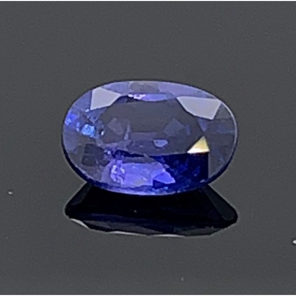 .88Ct Oval Cut Natural Color Change Sapphire Gerald's Jewelry Oak Harbor, WA