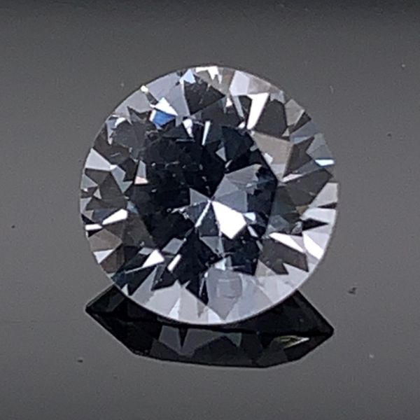 .80Ct Round Cut Natural Gray Spinel Gerald's Jewelry Oak Harbor, WA