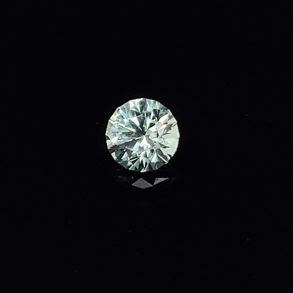 0.87ct Round Blue/Green Montana Sapphire Gerald's Jewelry Oak Harbor, WA
