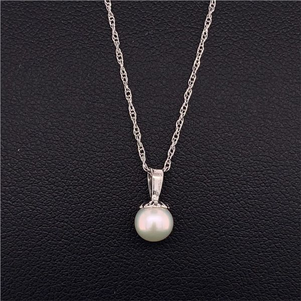 5Mm Freshwater Pearl Pendant Gerald's Jewelry Oak Harbor, WA