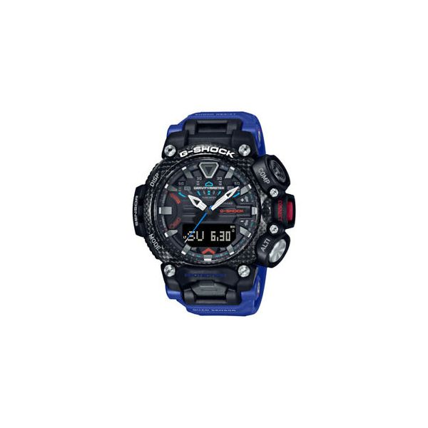Casio G-Shock, Gravitymaster with Blue Resin Band Geralds Jewelry Oak Harbor, WA