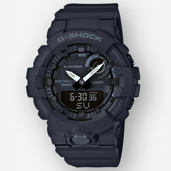 Casio G-Shock Step Tracker in Black Geralds Jewelry Oak Harbor, WA