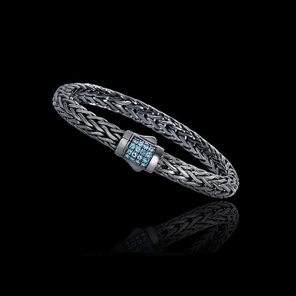 Phillip Gavriel Swiss Blue Topaz Bracelet Gerald's Jewelry Oak Harbor, WA