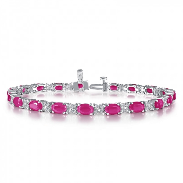 Laffon Lab Grown Rubies and Lassaire Bracelet Gerald's Jewelry Oak Harbor, WA