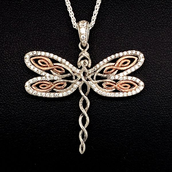 Keith Jack Celtic Dragonfly Pendant With Chain Gerald S Jewelry