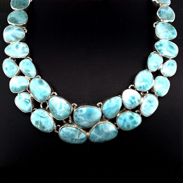 Larimar Necklace Image 2 Geralds Jewelry Oak Harbor, WA