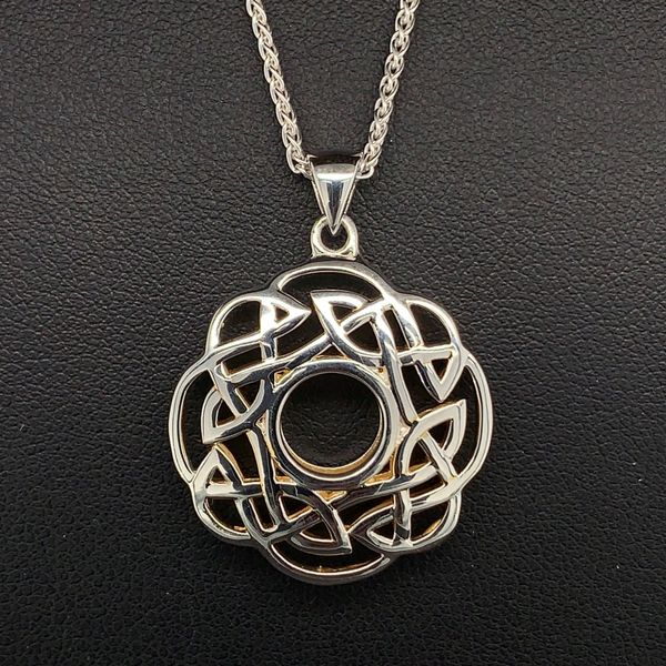 Keith Jack Celtic Window To The Soul Pendant Gerald's Jewelry Oak Harbor, WA
