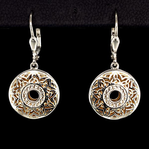 Keith Jack Celtic Window To The Soul Earrings Gerald's Jewelry Oak Harbor, WA