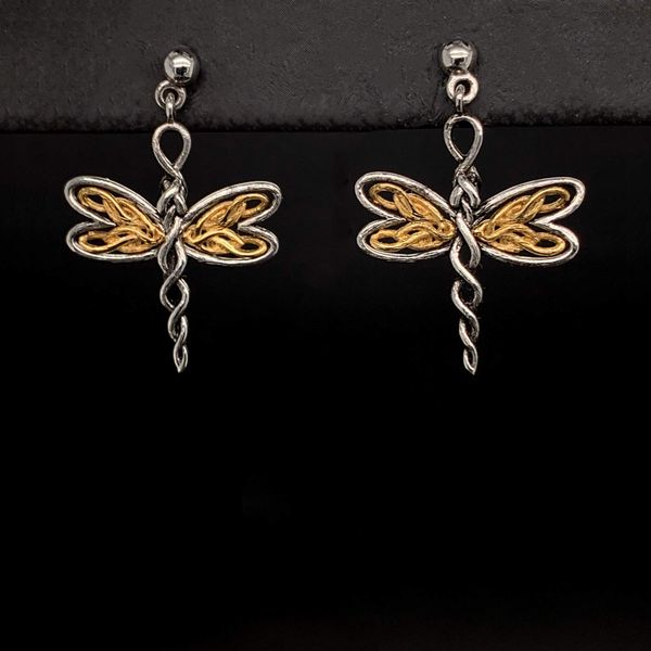 Keith Jack Celtic Dragonfly Earrings Gerald's Jewelry Oak Harbor, WA