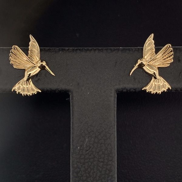 Keith Jack Celtic Hummingbird Earrings with Jacket Image 2 Geralds Jewelry Oak Harbor, WA