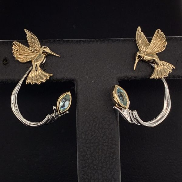 Keith Jack Celtic Hummingbird Earrings with Jacket Geralds Jewelry Oak Harbor, WA