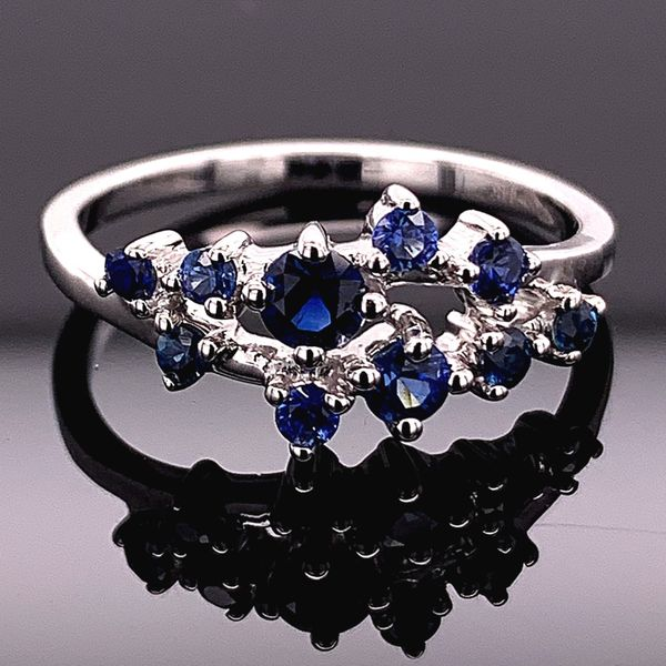 Natural Blue Sapphire Fashion Ring Gerald's Jewelry Oak Harbor, WA