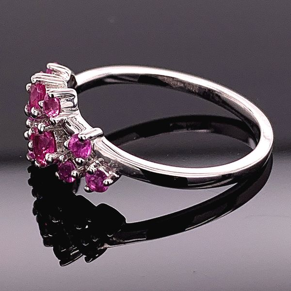 Natural Pink Sapphire Fashion Ring Image 2 Gerald's Jewelry Oak Harbor, WA