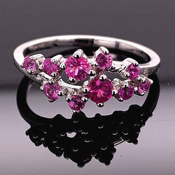 Natural Pink Sapphire Fashion Ring Gerald's Jewelry Oak Harbor, WA