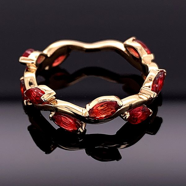 Custom Made Marquise Fire Ruby Ring Gerald's Jewelry Oak Harbor, WA