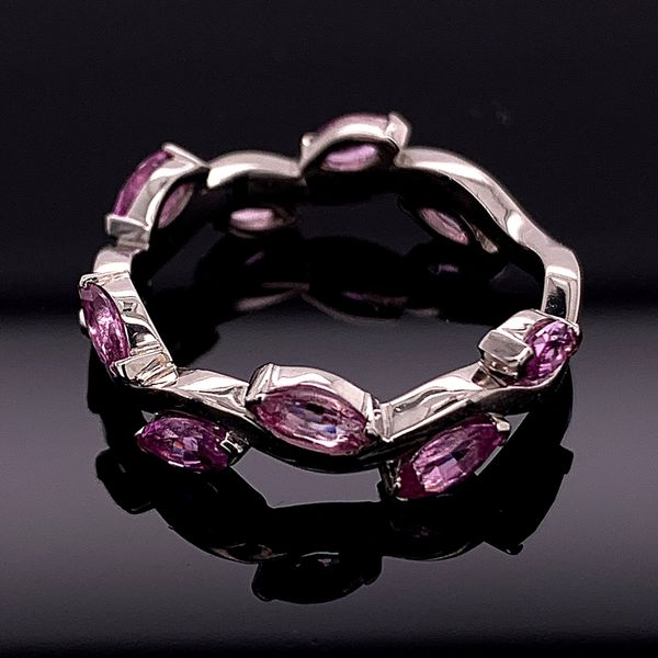 Custom Made Marquise Pink Sapphire Ring Image 2 Gerald's Jewelry Oak Harbor, WA