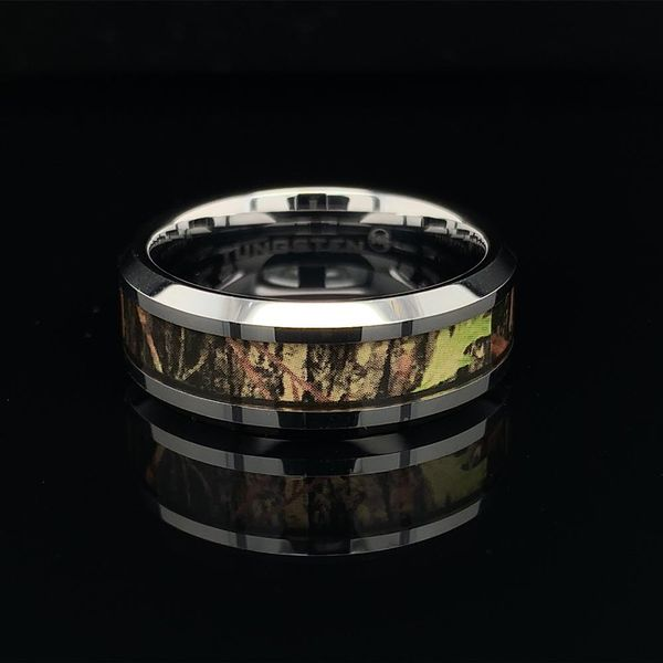 Tungsten Carbide Wedding Band Gerald's Jewelry Oak Harbor, WA