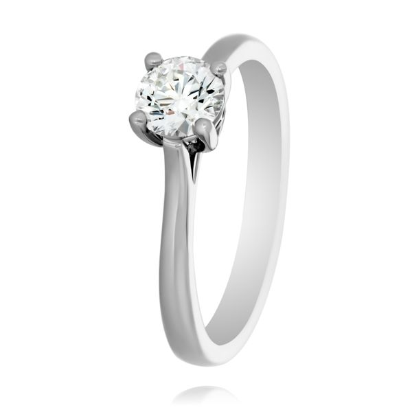 Tolkowsky 18K Wg Signature Solitaire Ring Georgies Fine Jewellery Narooma, New South Wales