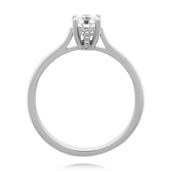 Tolkowsky 18K Wg Signature Solitaire Ring Image 2 Georgies Fine Jewellery Narooma, New South Wales