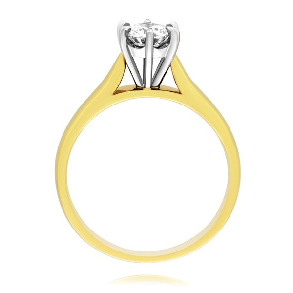 9Ct Yellow Gold Solitaire Engagement Ring Image 2 Georgies Fine Jewellery Narooma, New South Wales