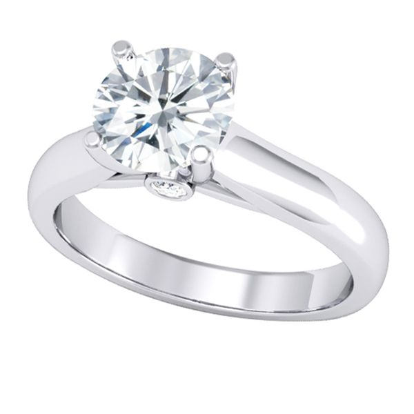 14Ct White Gold Diamond Engagement Ring Georgies Fine Jewellery Narooma, New South Wales