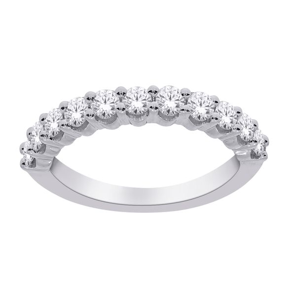 10Ct White Gold Round Eternity Ring Tdw=0.50Ct Georgies Fine Jewellery Narooma, New South Wales
