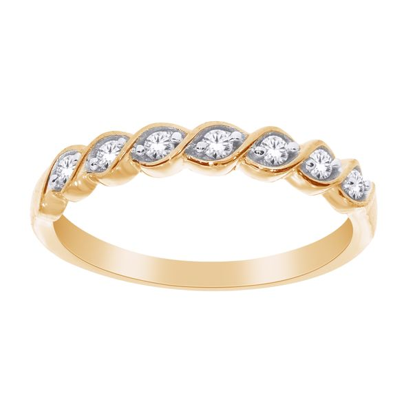 10Ct Yellow Gold Twist Band Ring Georgies Fine Jewellery Narooma, New South Wales
