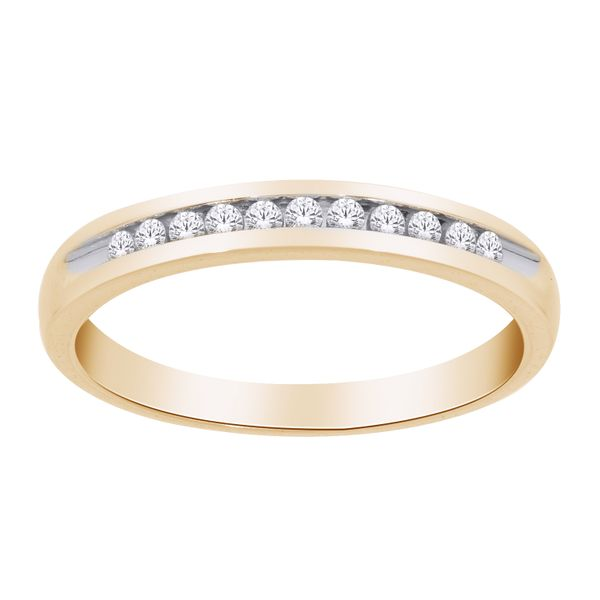 10Ct Yellow Gold Channel Set Diamond Ring Georgies Fine Jewellery Narooma, New South Wales