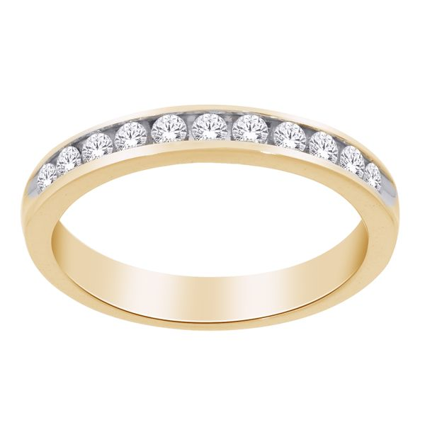 10Ct Yellow Gold Channel Set Diamond Ring Tdw = 0.33Ct Georgies Fine Jewellery Narooma, New South Wales