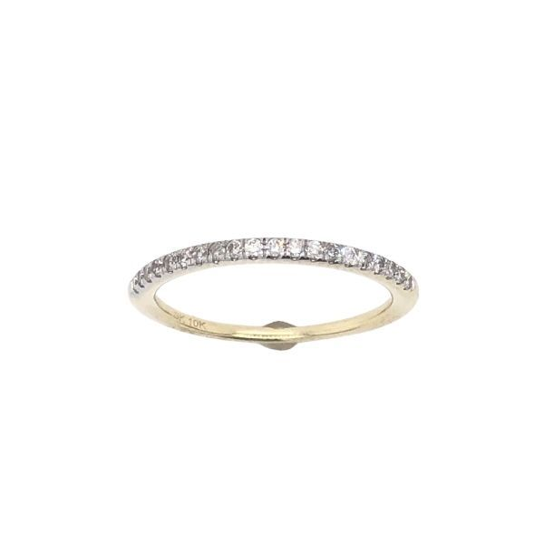 10Ct Yellow Gold Bead Set Diamond Eternity Band Tdw = 0.15Ct Georgies Fine Jewellery Narooma, New South Wales