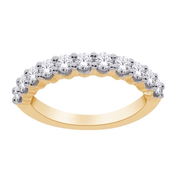 10Ct Yellow Gold Eternity Ring Tdw=0.50Ct Georgies Fine Jewellery Narooma, New South Wales