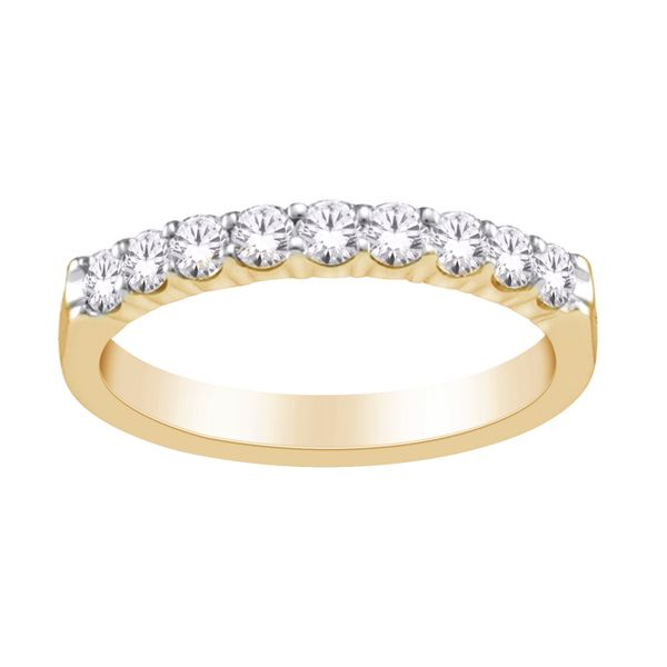 10Ct Yellow Gold Eternity Ring Tdw=0.15Ct Georgies Fine Jewellery Narooma, New South Wales