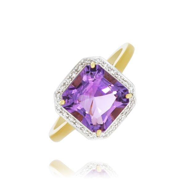9k Yellow Gold Ladies coloured stone set ring Georgies Fine Jewellery Narooma, New South Wales