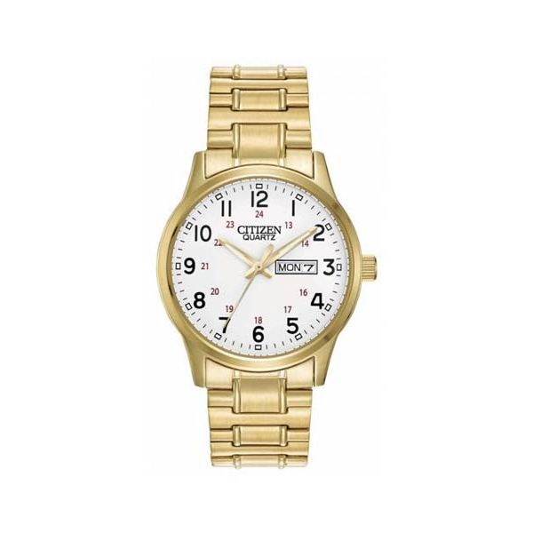 Citizen Gents Gold Plated Dress Watch Georgies Fine Jewellery Narooma, New South Wales