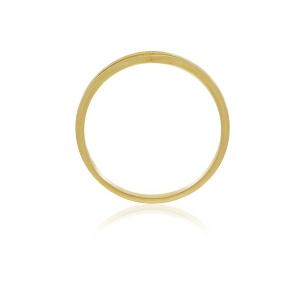Yellow Gold Plated Split Point Ring Image 4 Georgies Fine Jewellery Narooma, New South Wales