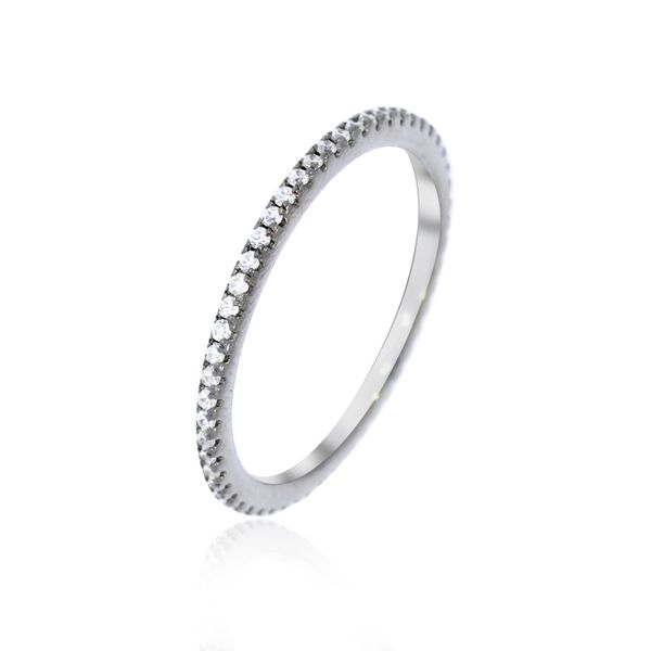 Sterling Silver with Black Rhodium Finish Ring Georgies Fine Jewellery Narooma, New South Wales