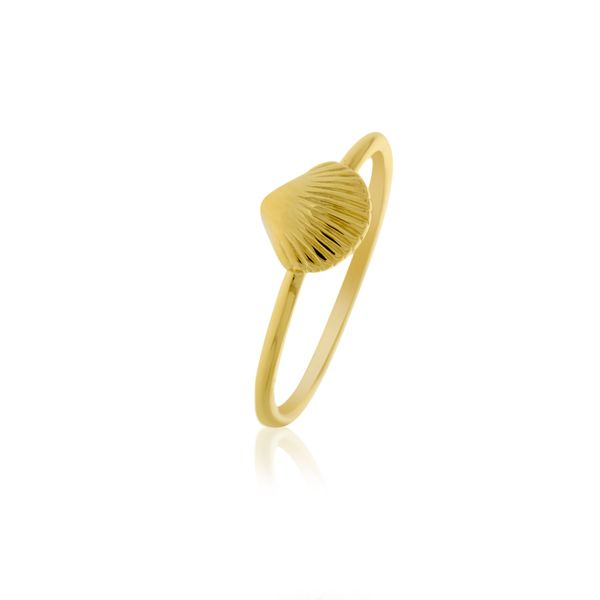 Ocean Babes Gold Shell Ring Georgies Fine Jewellery Narooma, New South Wales